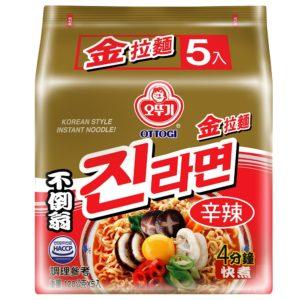 韓國不倒翁金拉麵(辛辣)