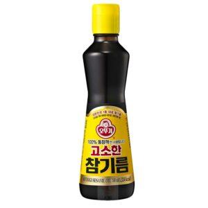 韓國不倒翁100%純芝麻油
