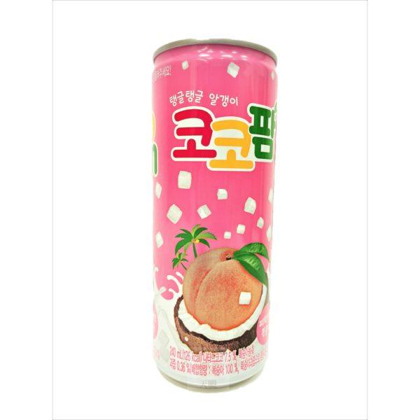 水蜜桃風味椰果飲料