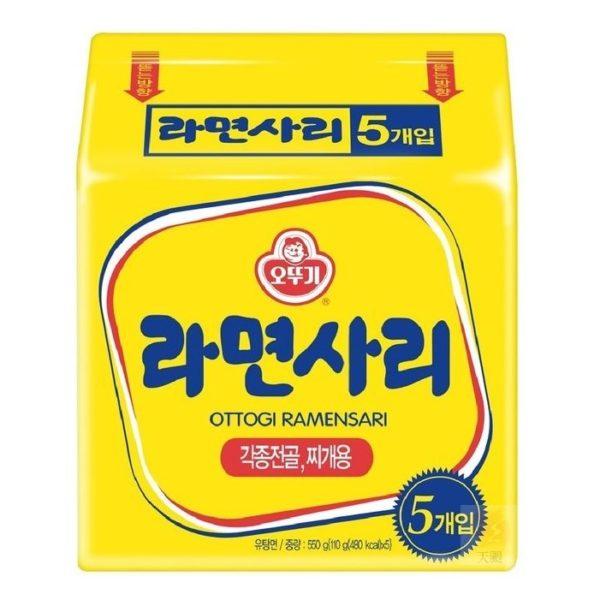 韓國不倒翁Q拉麵(純麵條)