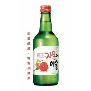 真露葡萄柚風味燒酒