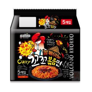 Paldo火山辣雞鐵板炒麵
