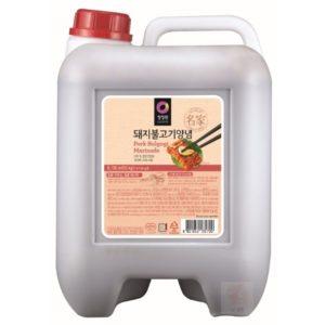 清淨園大象韓式醃烤調味醬(辣味)