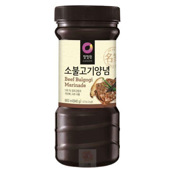 清淨園大象韓式醃烤調味醬(原味)-840公克