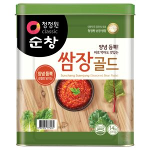 清淨園大象韓式蔬菜調味醬-14公斤