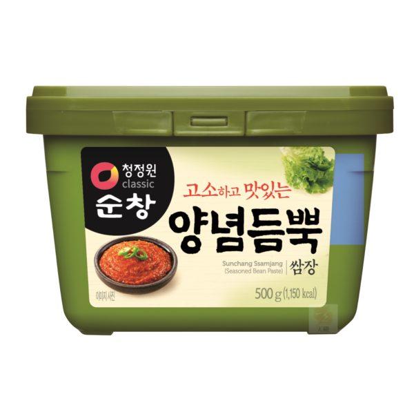 清淨園大象韓式蔬菜調味醬-500公克
