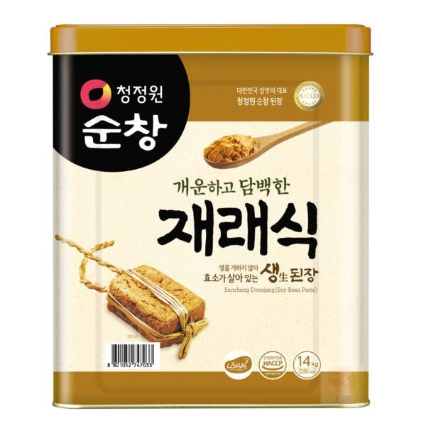 清淨園大象韓式黃豆醬-14公斤