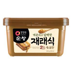 清淨園大象韓式黃豆醬-2.8公斤