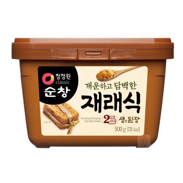 清淨園大象韓式黃豆醬-500公克
