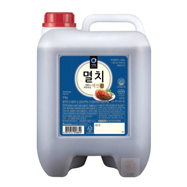清淨園大象韓式小魚乾魚露-9公斤