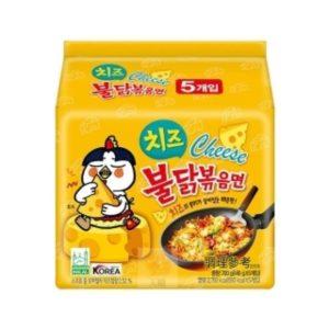 火辣雞肉風味鐵板炒麵(起司風味)