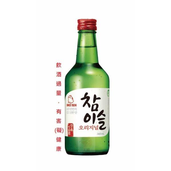 真露原味燒酒-20.1度