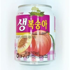 韓式水蜜桃綜合果汁