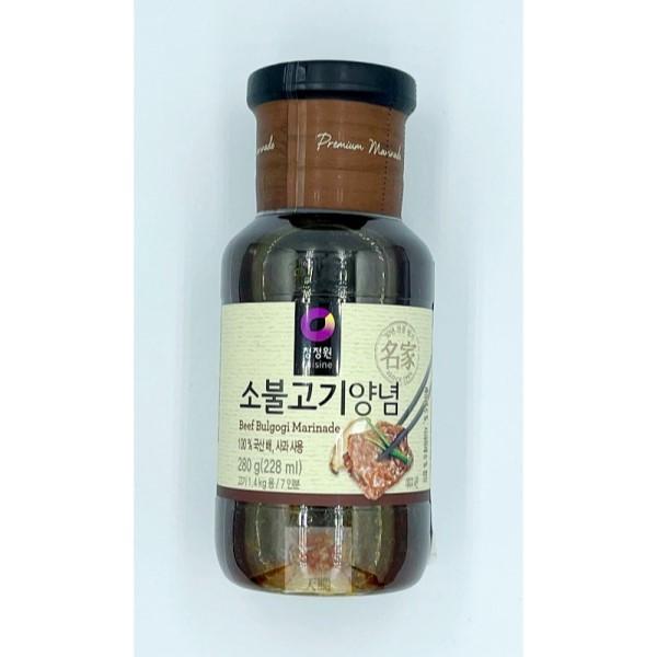 清淨園大象韓式醃烤調味醬(原味)-280公克