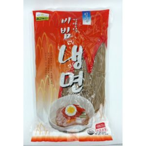韓式平壤辣拌蕎麥冷麵