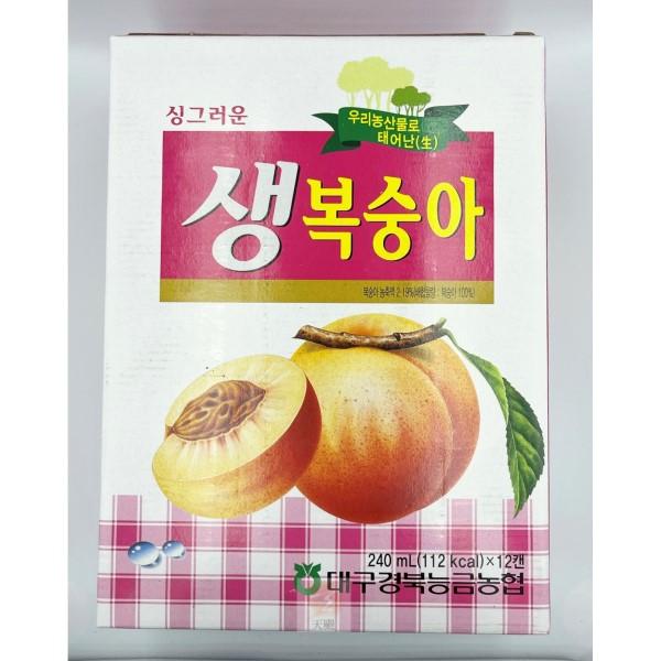 韓國水蜜桃綜合果汁